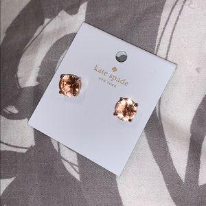 Kate Spade Rose Gold Studs